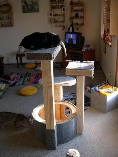 Cat Tree Construction
