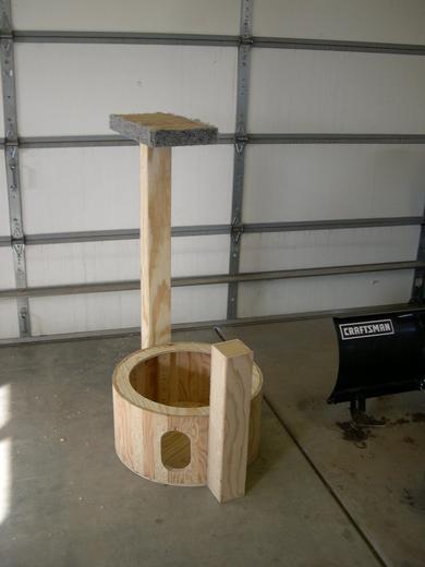 Cat Tree Construction
