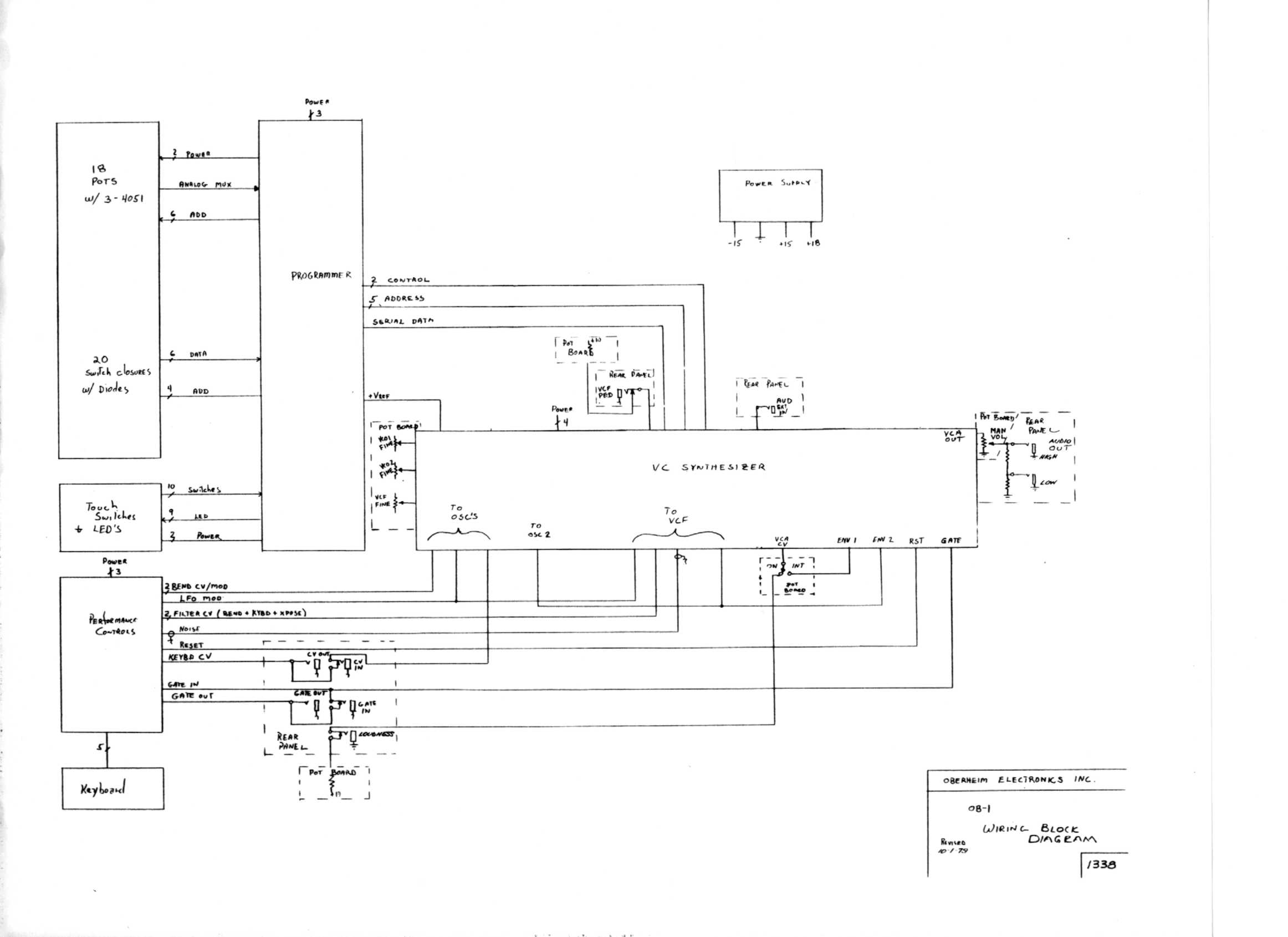Miscellaneous Oberheim Files Power Supply Block Diagram Free Download Wiring Schematic Ob 1