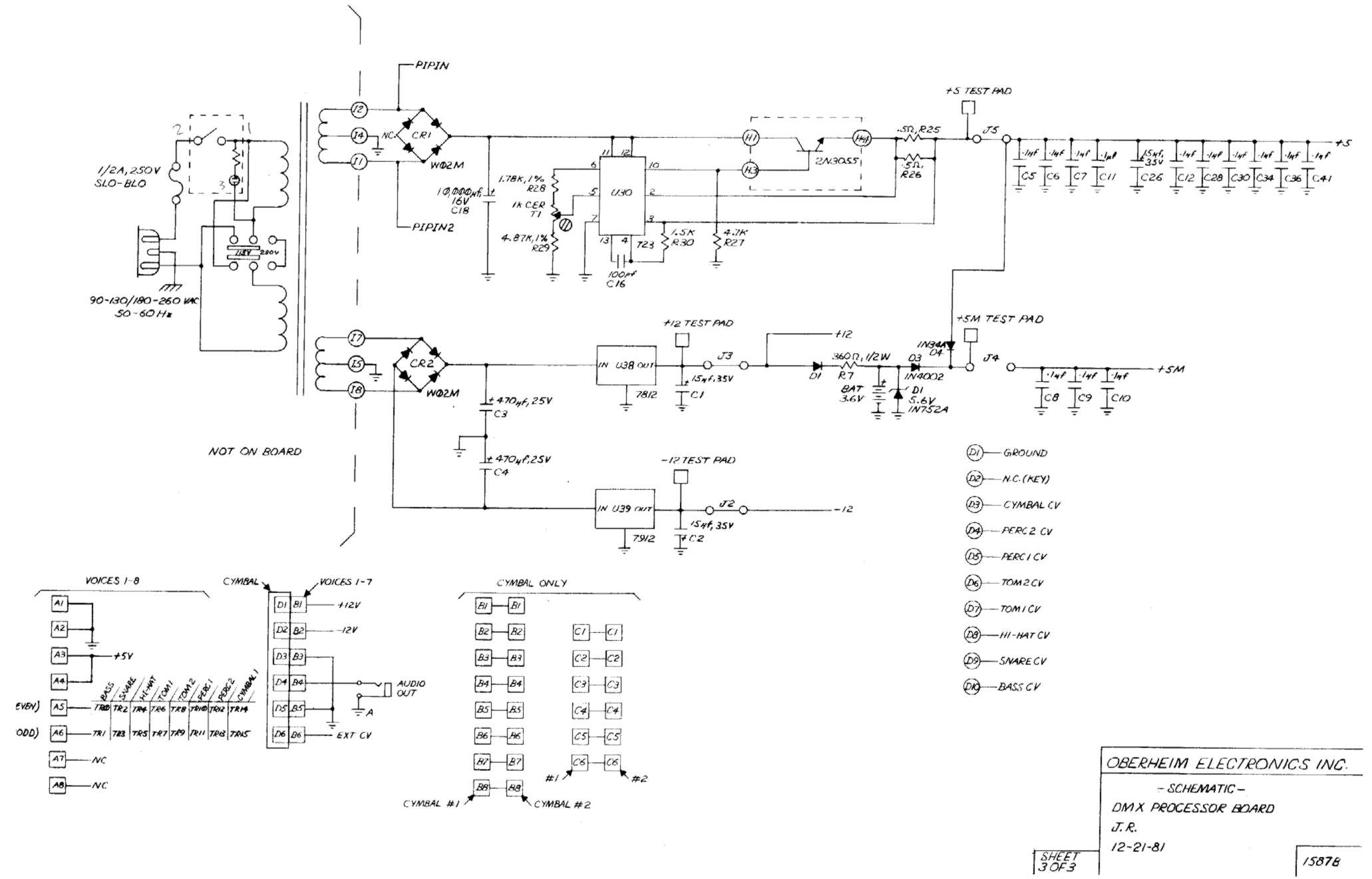 Miscellaneous Oberheim Files Dmx Led Controller Wiring Diagram Processor Board Schematic 3 Of